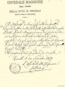 Atto di nascita-1879