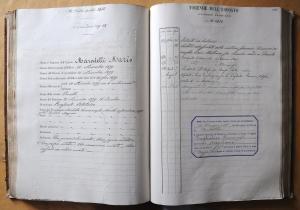 Registro  degli Esposti-1879