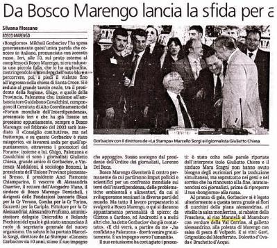 La Stampa-09.07.2002